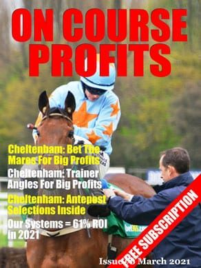 Horse Racing Magazine Cover