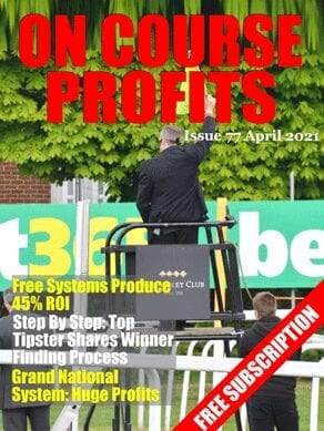 Issue 77 On Course Profits Free Horse Racing Magazine Cover