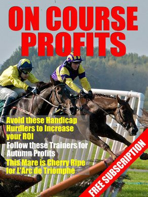 On Course Profits Horse Racing Magazine Cover